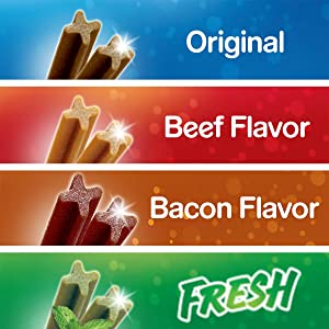 Original; Beef; Beefy; Bacon; Fresh; Treats; Benefit Added; Try Them All; Best Friend