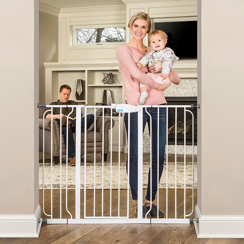 Amazon Com Regalo Extra Tall Widespan Gate White Baby