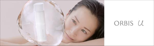 オルビスユー TVCM 黒田エイミ ボトル 水 かたまり 女性 透明感 化粧水 オルビスユーローション ベスコス 一位 きれい 玉