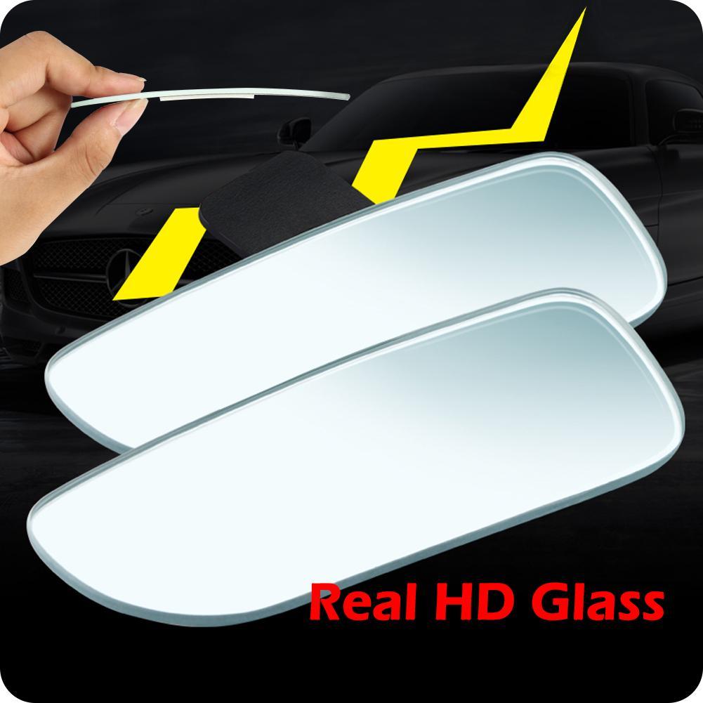 Amazon Com Ampper Slender Blind Spot Mirrors Frameless
