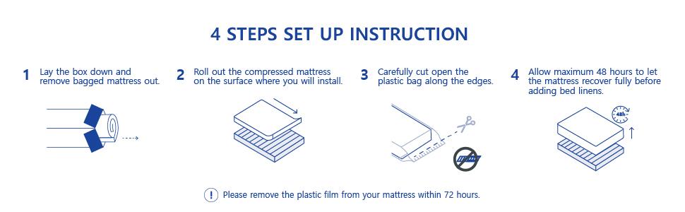 mattress instructions