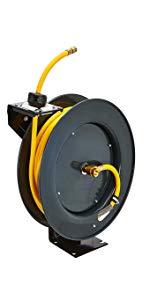hose reel air water oil fuel UREA DEF welding 1/4quot; 3/8quot; 1/2quot; 1quot; 25' 50' 65' 100' rubber polymer