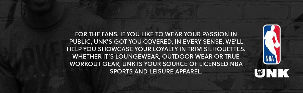 UNK NBA national basketball association hoops apparel hoodie joggers sports gear