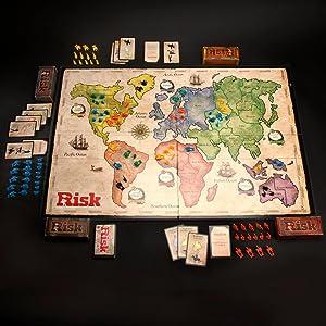 Hasbro Gaming Clasico Risk (Versión Española) , (B7404105): Amazon ...
