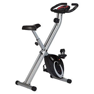 Ultrasport F-Bike, Bicycle Trainer, Home Trainer, Collapsible Exercise Bike