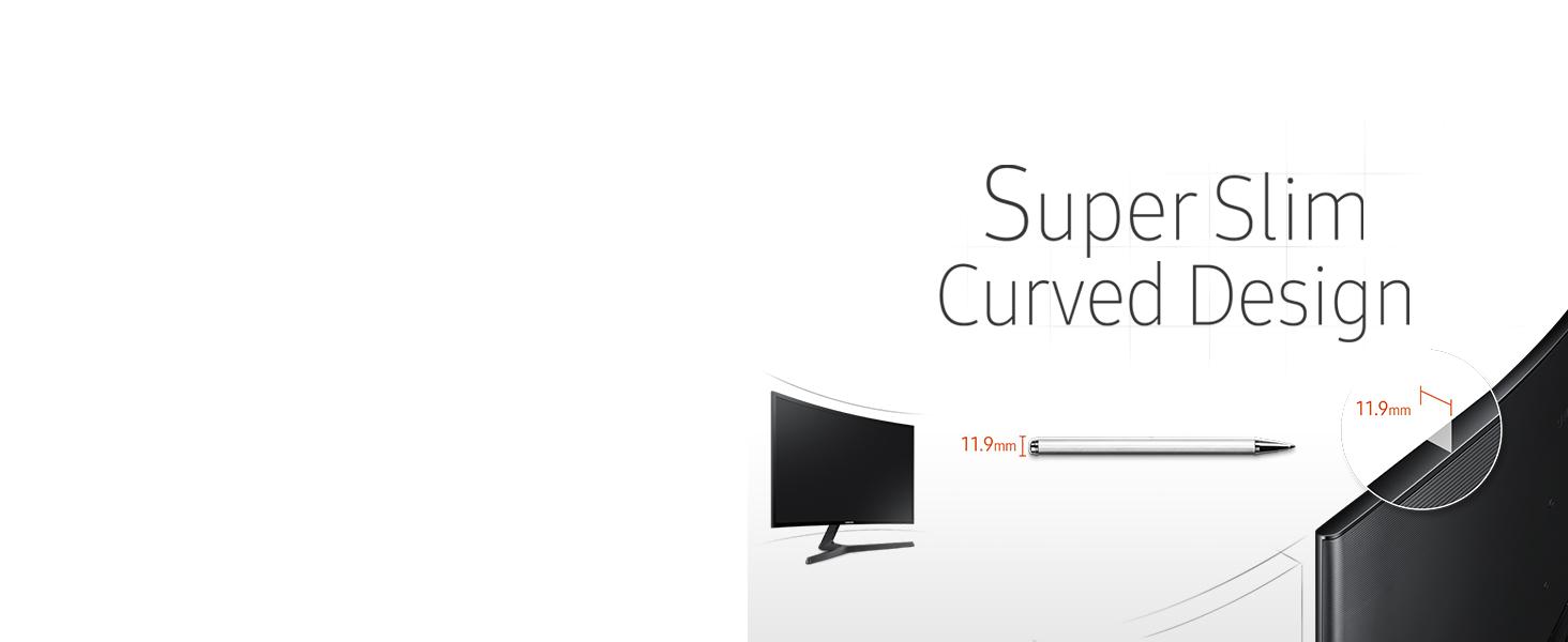 Samsung C24F396 - Monitor Curvo de 24 (Full HD, 4 ms, 60 Hz, FreeSync, Flicker-Free, LED, VA, 16:9, 3000:1, 1800R, 250 cd/m², HDMI, Base en V) Negro: Amazon.es: Informática