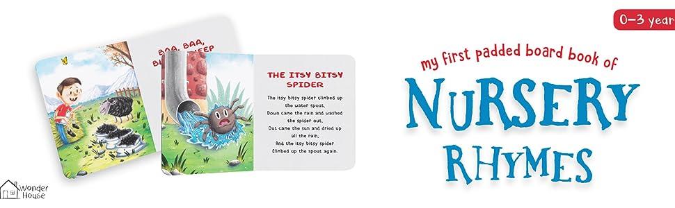 Nursery rhymes padded