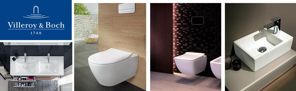 Villeroy & Boch Wand WC Subway 2.0 (Toilette ohne Spülrand ...