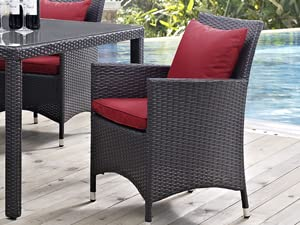 Gather stages,aluminum frame,powder-coated,rattan weave,outdoor collection,all-weather fabric