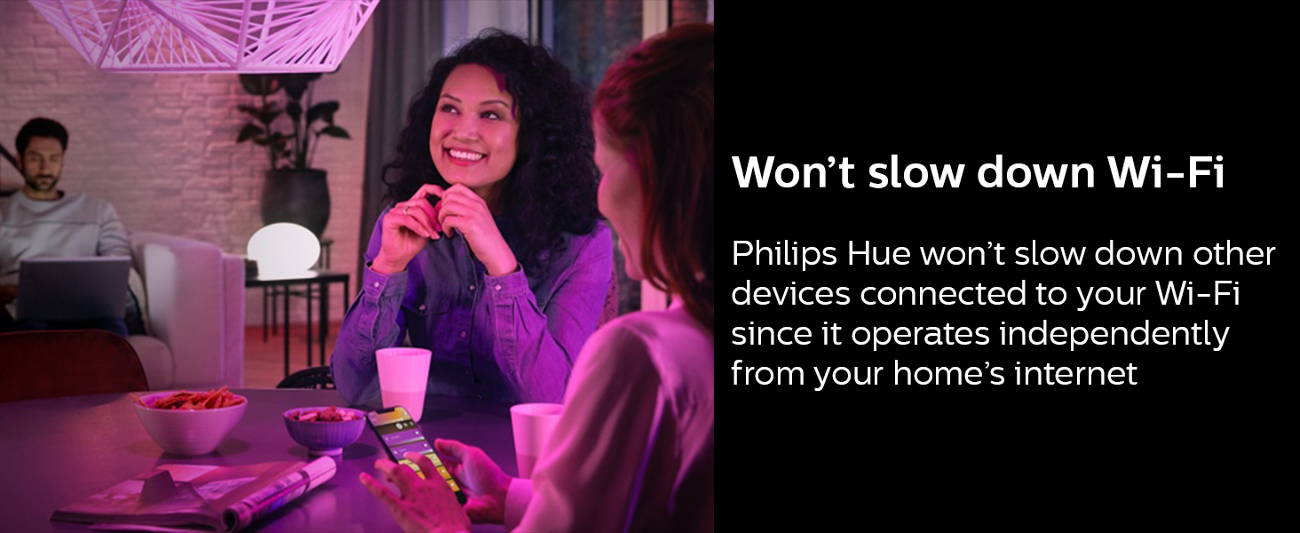 Philips;Hue:Hub;Bridge;LED;connected lighting;smart lights;smart home;in and outdoor;50 lights;app
