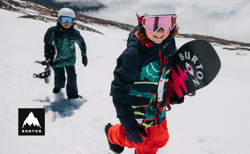 kids burton snowboarding pullover fleece sweatshirt boys girls
