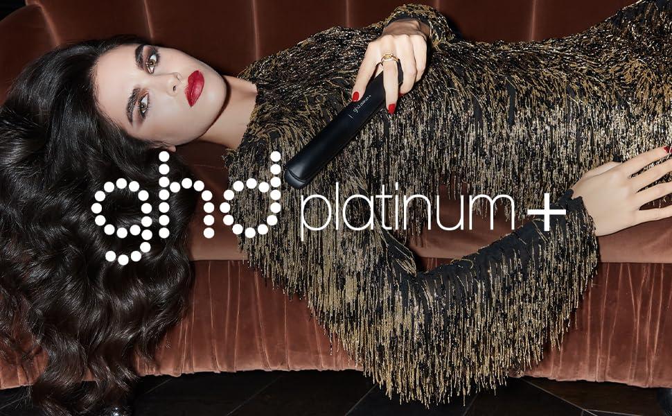 platinum+; ghd hair straightener