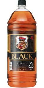 ブラックニッカクリア ブレンデッドウイスキー ウイスキー ニッカウヰスキー ニッカ