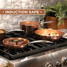 INDUCTION SAFE, COOKTOP COMPATIBLE, OVEN SAFE
