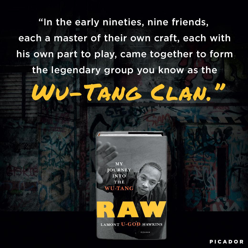 Amazoncom Raw My Journey Into The Wu Tang 9781250191168 Lamont