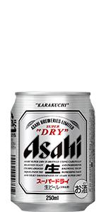 アサヒ スーパードライ 250ml×24本