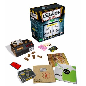 escape room the game box contents