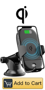 Amazon.com: LETSCOM Wireless Charger,Qi-Certified 15W Fast ...