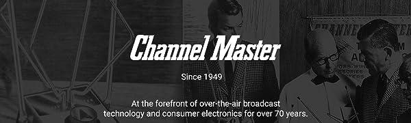 Channel Master, Logo, Manufacturer, Consumer Electronics, American Company, TV Antenna, Free TV, OTA