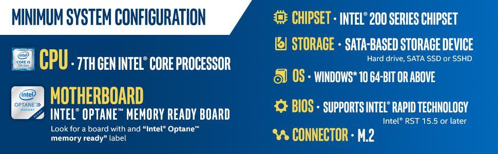 Intel Optane Memory, Intel