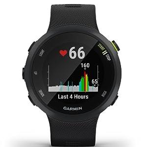 Forerunner 45 - Montre GPS de course à pied avec prise en charge des programmes dentraînement Garmin Coach