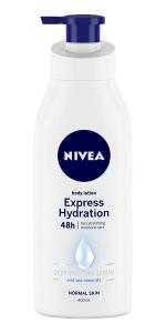 express hydration, nivea, body lotion