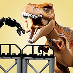 Lego Building Toys Humorous 16pcs Dinosaur Rex Tyrannosaurus Jurassic Park Minifigures Building Block Lego To Win A High Admiration