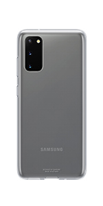 Samsung Clear Cover Smartphone Cover Ef Qg980 For Galaxy S20 S20 5g Mobile Phone Case Extra Thin And Grippy Transparent Elektronik