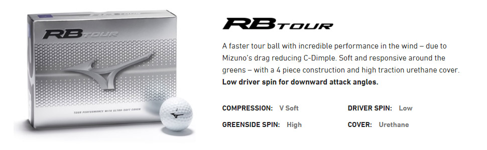 rb tour golf ball