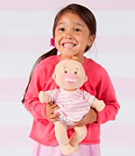 0083fbb10 Amazon.com  Manhattan Toy Baby Stella Peach Soft First Baby Doll for ...