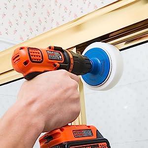 revoclean, revo clean, drillbrush, drill brush, soap scum, shower clean, bathroom clean, tile brush