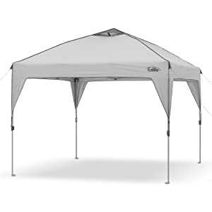 CORE 10' x 10' Instant Shelter Pop-Up Canopy Tent with Wheeled Carry Bag 12