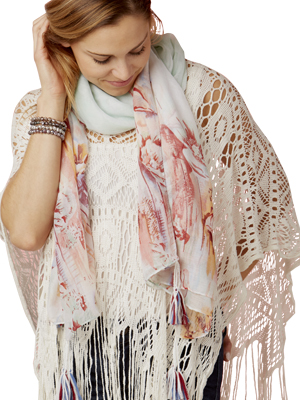 Scarf and Poncho