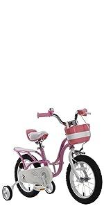 Amazon Com Royalbaby Stargirl Girls Bike With Training