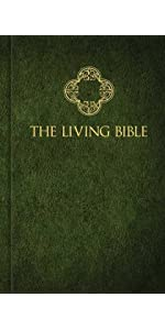 living bible nlt new living translation paraphrase tyndale house easy to read large print index