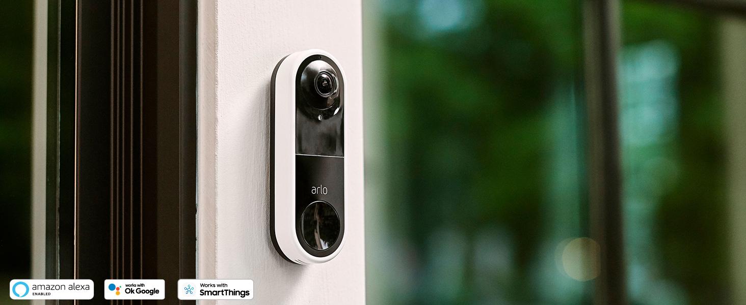 Arlo, Video Doorbell, HD, Security Camera, Smart Home, Security, Arlo Smart, weather-resistant, IoT
