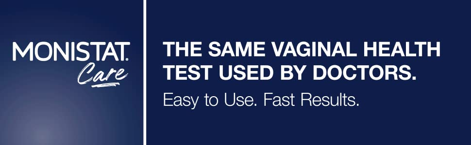 Monistat Care Vaginal Health Test | pH Test | 2 Swabs | 3