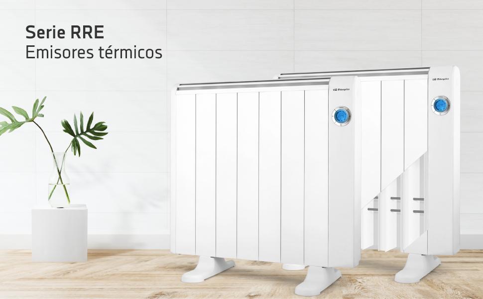 Orbegozo RRE 1010 A Emisor Térmico Bajo Consumo, 6 Elementos de ...