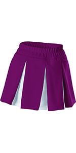 ALLESON Girls Large waist 27 29  Cheerleading Skirt Pink White C201MY