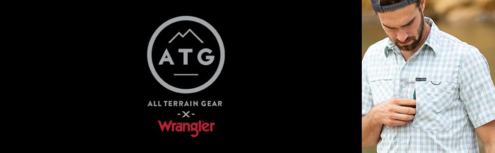 ATG x Wrangler Hike to Fish Short Sleeve Shirt