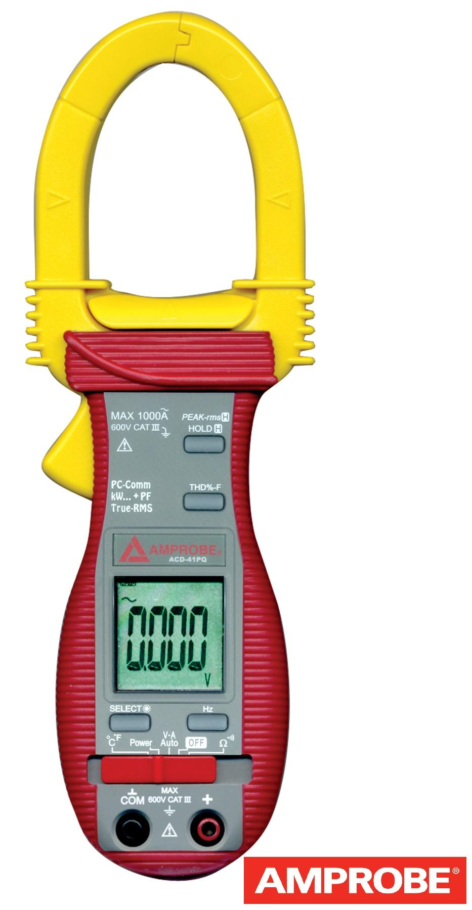 A Digital Clamp Meter 400 : Amprobe acdc trms digital clamp multimeter a ac dc