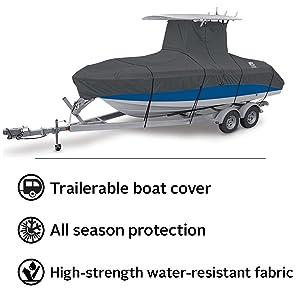 StormPro T-Top Boat Cover