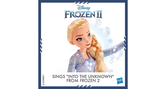 Sings Song From Frozen 2