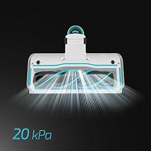 Cecotec Aspirador Conga Rockstar 200 Vital. Aspirador sin Cables 3 en 1: Vertical, Escoba y de Mano, con Motor Digital Brushless, 330 W de Potencia, 20 KPA, 50 min de autonomía.: Amazon.es: Hogar