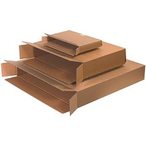 Brown Kraft Side Loading Boxes with FOL Full Overlap