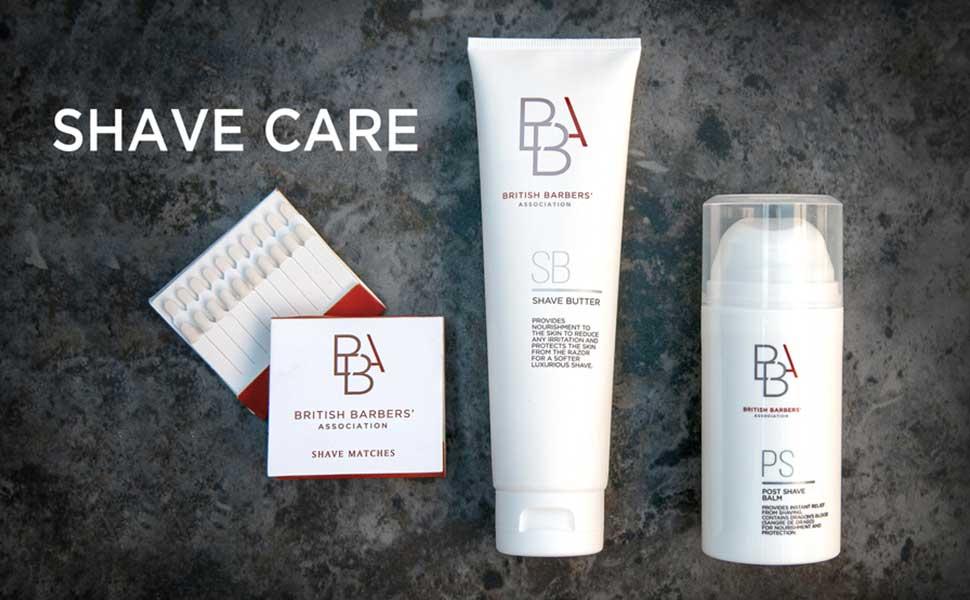BBA Shave Care Range