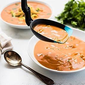 spadle, ladle, spoon, serving spoon, soup spoon, cooking spoon, soup ladle