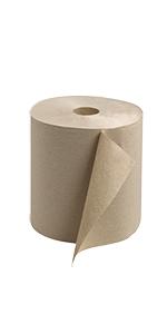 ... Tork Universal RK800E Hardwound Paper Roll Towel, 800 Length