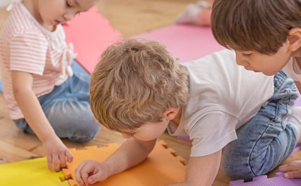 exercise soft foam mat play mat kids infant children daycare school mat thick rubber puzzle eva mat