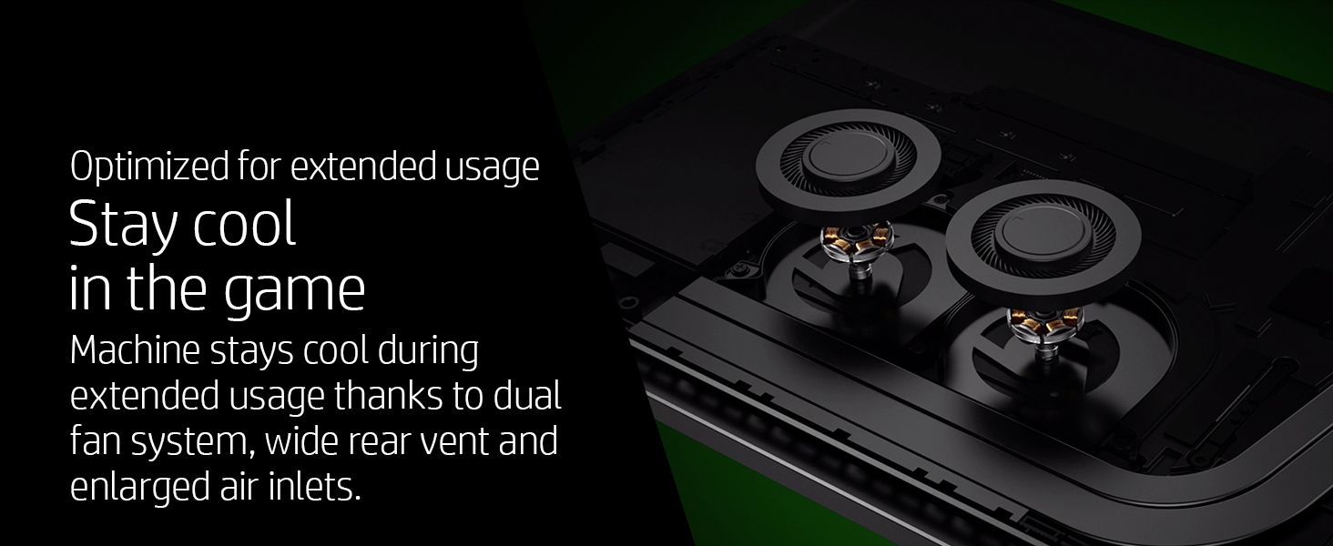 cool optimized extended usage daily dual fan system vent ventilation air inlet